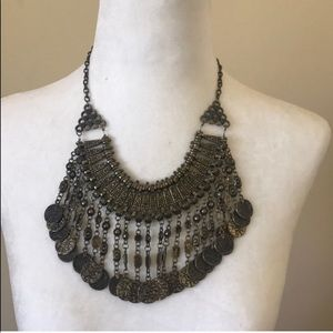 Fringe Coin Necklace from forever 21.
